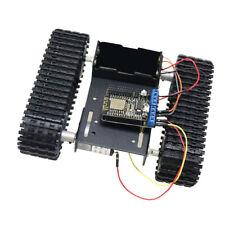 Wifi Nodemcu Control Smart Robot Car Tank Chassis Kit Aluminum Big Platform