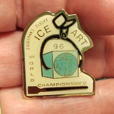 1995 World ice art Championship lapel Pin Fairbanks Alaska great collectible!