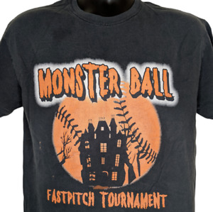 Monster Ball Fast Pitch Tournament TShirt New Mexico Size M