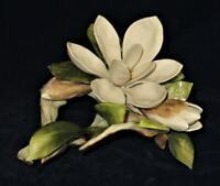 Cybis Porcelain Figurine Magnolia Blossom