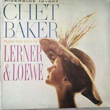 CHET BAKER plays the best of Lerner and Loewe (Riverside OJC-137 / RLP-1152)