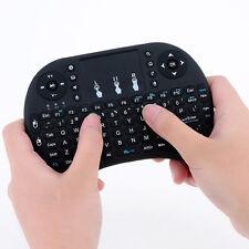 Mini i8 Teclado Ergonómico con Ratón Touchpad Incorporado 2.4G