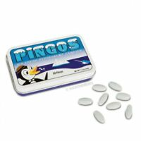 Peppermint Flavored Pingos Candy In Tin