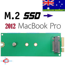 B Key M.2 / NGFF SSD to 2012 MacBook Pro A1398 A1425 Adapter Converter 3 Length