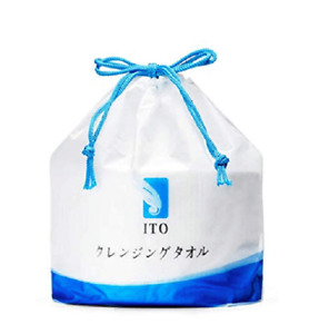 ITO Disposable Cleansing Cotton Tissue Face Wash Towel Makeup Remover 80pcs/Roll