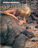 national geographic WORLD-FEB 1978-WAY-OUT WILDLIFE.