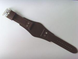 FOSSIL Original Ersatz Lederarmband CH2565 Uhrband mit Unterlage watch strap