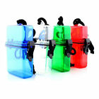 Outdoor Swim Waterproof Plastic Container Storage Case Key Money Box Colorful