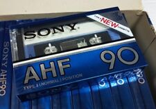 SONY AHF 90 nice cassette tape from the box