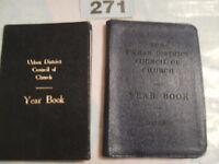 VINTAGE URBAN DISTRICT COUNCIL OF CHURCH LANCASHIRE YEAR BOOKS 1955 & 1957