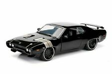 Jada Toys Fast & Furious 8 Diecast Doms Plymouth GTX Vehicle 124 Scale