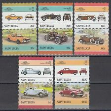 St. Lucia 1986 ** ex Mi.860/71 Automobile Autos Cars [sq6258]