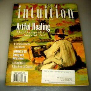 Intuition Magazine #11 June 1996 Healing Isabel Allende Synchronicity - ART