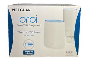 NETGEAR Orbi AC2200 Tri-Band Wi-Fi System - RBK20W-100NAS