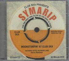 SYMARIP - MOONSTOMPIN' AT CLUB SKA - (sealed cd+dvd set) - MOONCDLX 109