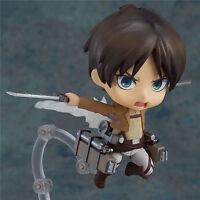 Anime Attack On Titan Eren Yeager Nendoroid Shingeki No Kyojin Action Figure Toy