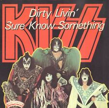 "KISS ‎– Dirty Livin' / Sure Know Something (1979 VINYL SINGLE 7"" FRANCE)"