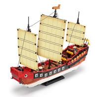 Bausteine Xingbao China Segelboot Geschichte Modell Geschenk Spielzeug 1892PCS