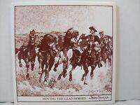 Frederick Remington ARTile Art Tile Moving the Lead Horses Ceramic