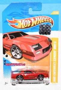 Hot Wheels 2012 Neu Modelle 1985 Chevrolet Camaro Iroc-Z Rot Fabrik Verpackt
