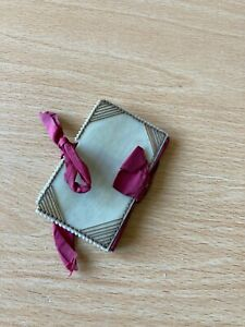 Antique/Victorian Needle Case/Book/Thread Detail in Corners