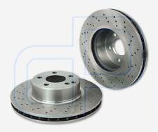 2 gelochte Bremsscheiben MERCEDES SKlasse W220 vorne  Vorderachse Durchmesser 31