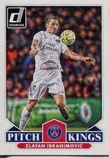Donruss Soccer 2015 Pitch Kings Chase Card #25 Zlatan Ibrahimovic