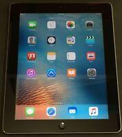 "Apple iPad 2 Generation 16GB WiFi 9.7"" Tablet Black"