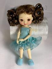 "Tonner Wilde Imagination 4"" AMELIA THIMBLE BASIC AMELIA  BJD DOLL Blue Dress"