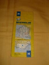 MICHELIN Carte Routière et Touristique N°84 Marseille-Menton 1984
