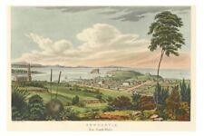 NEWCASTLE - NSW - 1820s Art by J Lycett as a lithograph modern Digital Postcard