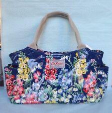 Cath Kidston Blue Flowers Oilcloth Handbag Day Bag BNWT Brand New FREE POST!