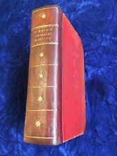 Rare! ALMANACH IMPERIAL POUR L'AN MDCCCVI Testu, Paris 1806