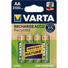 4 x Varta Recharge Akku Recycled AA Mignon HR6 2100mAh 1,2V NiMH 56816