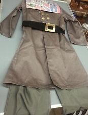 Children Civil War Confederate Csa Officer Costume Uniform Size Large