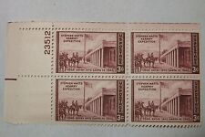 $0.03 Cents Stephen Watts Kearny Expedition Stamps Plate Block of 4 #23512