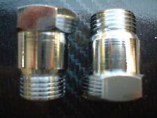 (2) Oxygen sensor extender spacer HHO HYDROGEN Test Pipe O2 M18 X 1.5 18mm