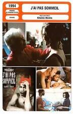 FICHE CINEMA : J'AI PAS SOMMEIL - Golubeva,Courcet,Denis 1994 I Can't Sleep