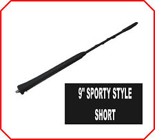 "9""Stubby short bee sting Whip Roof Mast AM/FM Aerial Antenna genuine replacement"