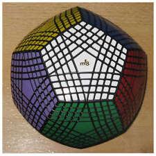 Mf8 Black Petaminx 9-Layered Megaminx Twist Puzzle Magic Cube Stickers Finished