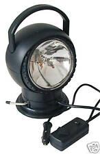 12 Volt Scheinwerfer elektrisch mit Fernsteuerung Halogen Suchscheinwerfer