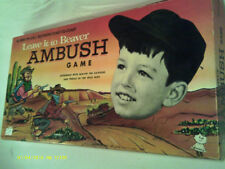 (Z1) LEAVE IT TO BEAVER AMBUSH GAME 1959 ACTION PACKED WESTERN GAME by GOMALCO