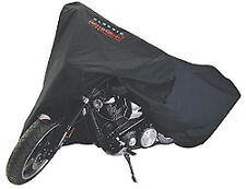 Motorcycle Cover - Black Fits Sport Bikes