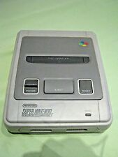 Super Nintendo SNES system with cables, 1992, excellent working , perfect