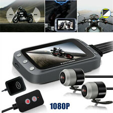 1080P GPS Dash Cam Motorcycle Front+Back Dual Camera Lens DVR Driving Recorder
