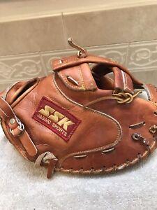 "SSK DPM-9200 Dimple II 34"" Fastpitch Softball Catchers Mitt Right Hand Throw"