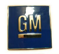GM Logo  Belt Buckle Blue chrome Chevrolet GMC General motors classic us seller