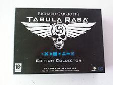 Tabula Rasa edition collector PC boite carton FR (sans jeu/nogame)