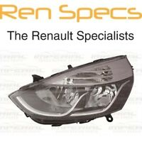 RENAULT CLIO IV - BRAND NEW FRONT LEFT HEADLAMP - Nearside Head Light - Chrome