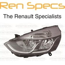 RENAULT CLIO IV - BRAND NEW FRONT LEFT HEADLAMP - Nearside Head Light - Chrome